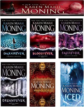 A Complete 6-book Karen Marie Moning Fever Series Collection [Darkfever, Bloodfever, Faefever, Dreamfever, Shadowfever, and Iced]