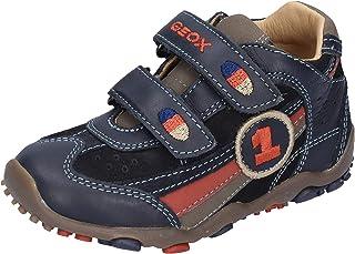 Geox Sneaker Bambino Pelle Blu