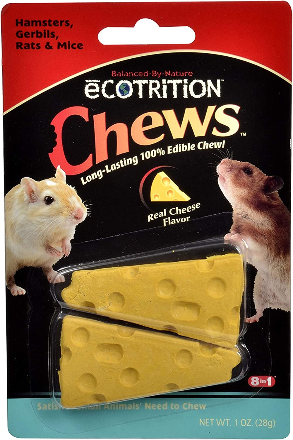 Shipping included 8 In 1 Pet Products Seop84002 Cheesie Max 86% OFF Small Ecotrition Animal Ch