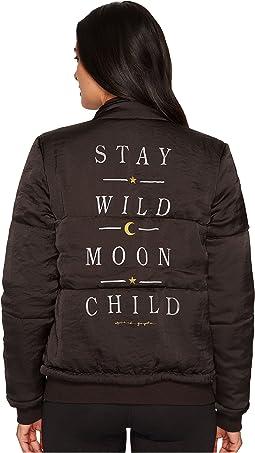 Spiritual Gangster - Wild Moon Puffer Jacket