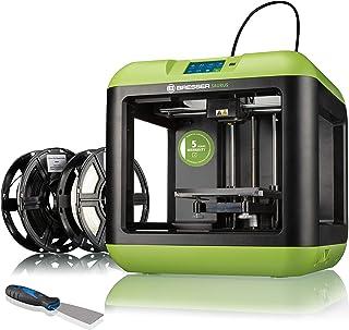 Bresser 3D-printer Saurus met WLAN en filamentbundel met open behuizing voor PLA, ideaal voor beginners met uitgebreide ha...