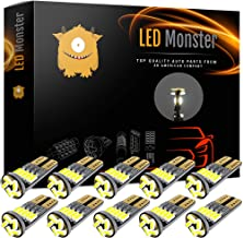 💡LED Monster 10x 194 Led Light Bulbs For Rv Camper Trailer Dome Map Door Courtesy License Plate - Direct Fit For T10 2825 194 168 W5W - Super Bright White 25 194 168 W5W - Rv Led Light Bulbs