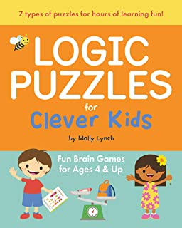 Logic Puzzles for Clever Kids: Fun Brain Games for Ages 4 & Up