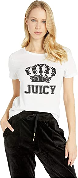 Glitter Crown Logo Tee
