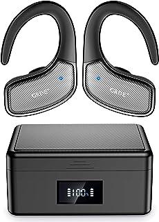 comprar comparacion Auriculares Bluetooth Deportivos, Auriculares Inalámbricos Bluetooth Dual Pantalla de Batería, Auriculares Running IPX5 Im...