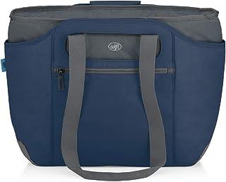 alfi IsoBag 0007.296.812 Sac isotherme 2 en 1 avec sac de transport supplémentaire Bleu foncé 54 x 16,5 x 37 cm 2 en 1