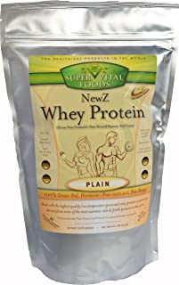 NewZ Whey Protein - New Zealand Whey - Low Temperature Processed - 100% Grass Fed - Hormone Free - Soy Free Whey - Original Flavor, 1lb