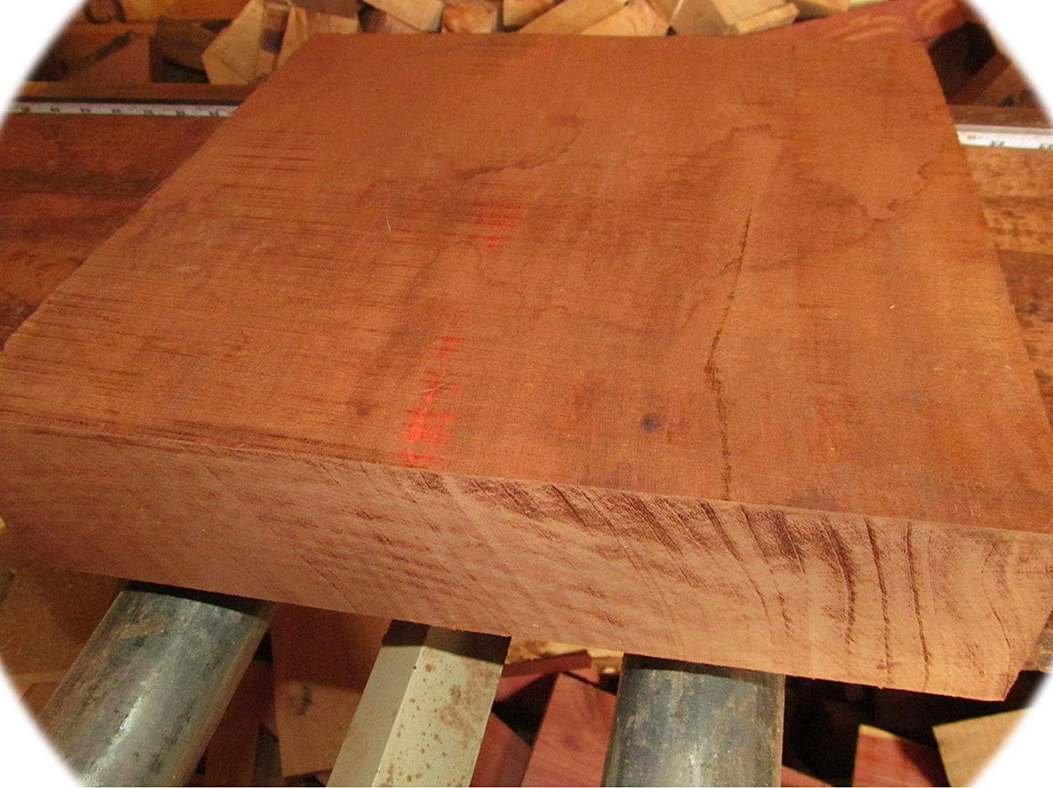 Pack of Max 82% OFF Exotic Kiln Dried Sapele Bowl Lumber Blanks Soldering Turning Wood