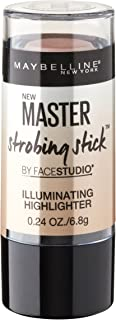 Maybelline New York Makeup Facestudio Master Strobing Stick,  Light - Iridescent Highlighter, 0.24 oz.