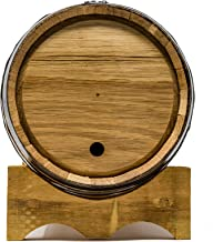five gallon oak barrel