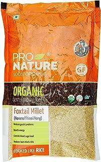 Pro Nature 100% Organic Foxtail Millet, 500 g