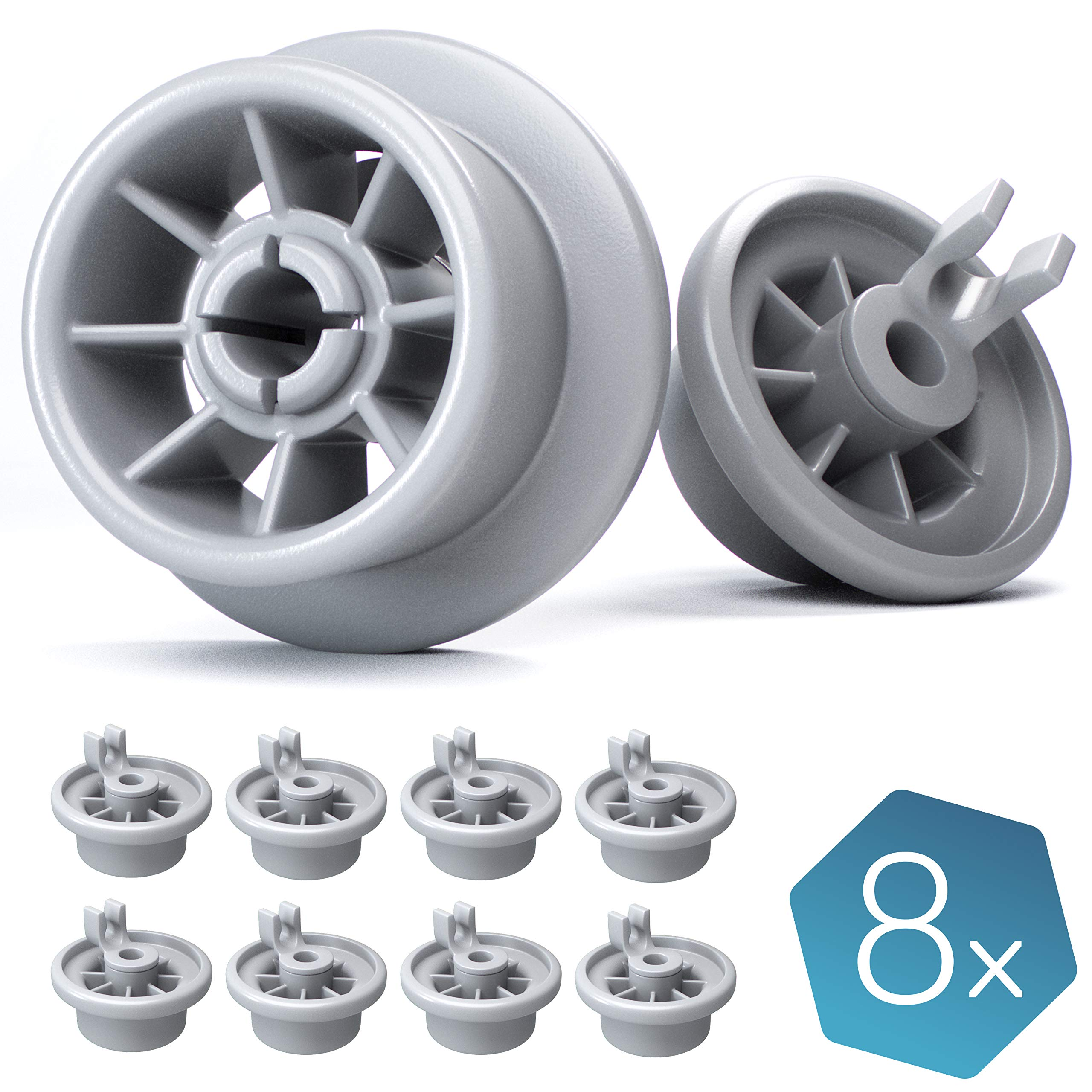 Genuine Part Number 611475 SMS68M02AU23 SMS63M08AU4 Bosch Neff Dishwasher Wheel