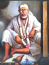 S A Gifts Sai Amrut Shirdi Sai Baba Wall Poster Without Frame for Home Decor & Other Purposes (Multi Colour & Sizes Available) (16x20 inch, Dwarkamai Sai)
