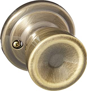 Kwikset 788A-5GC Abbey Half Dummy Lock Antique Brass Finish with New Chassis