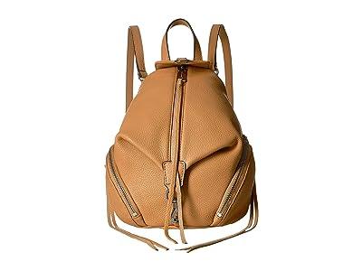 Rebecca Minkoff Convertible Mini Julian Backpack (Honey) Backpack Bags