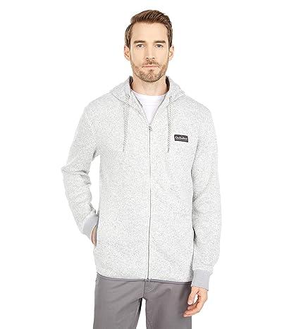 Quiksilver Keller Zip Fleece (Light Grey Heather 1) Men