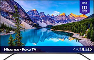 Hisense 55-Inch Class R8 Series Dolby Vision & Atmos 4K ULED Roku Smart TV with Alexa Compatibility and Voice Remote (55R8...