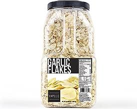 Hayllo Organic Spice Dehydrated Garlic Flakes Dry Slice Dried Garlic, 3 Pound