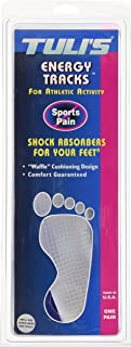 Tuli's EnergyTracks Gel Insole - All Day Protection and Relief - Small (Children, Ladies Under 7)