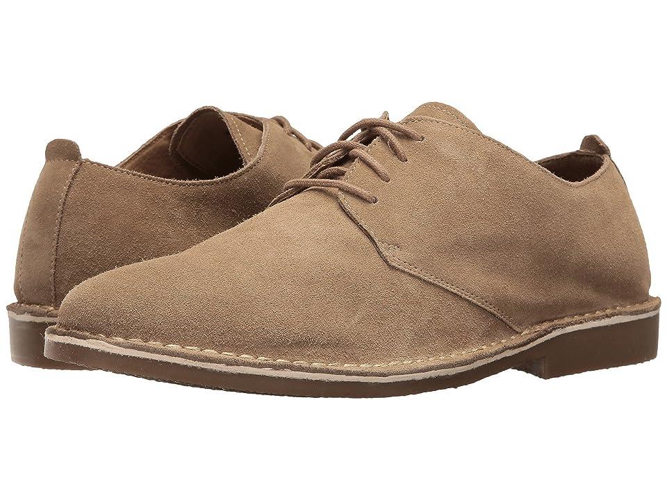 Nunn Bush Gordy Plain Toe Oxford (Beige) Men