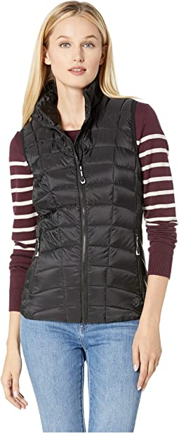 1411 Dull Black Down Vest