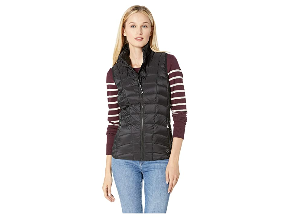 Roper 1411 Dull Black Down Vest (Black) Women