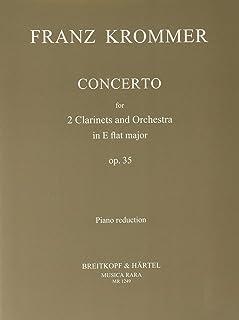 クロンマー : 協奏曲 変ホ長調 作品35 (CLARINET DUO/PIANO) ムジカ・ララ出版