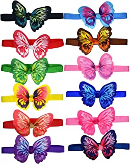 yagopet 10pcs/Pack New Puppy Dog Bow Ties Butterfly Bows Cat Dog Bowties Collar Festival Puppy Dog Ties Dog Grooming Accessories