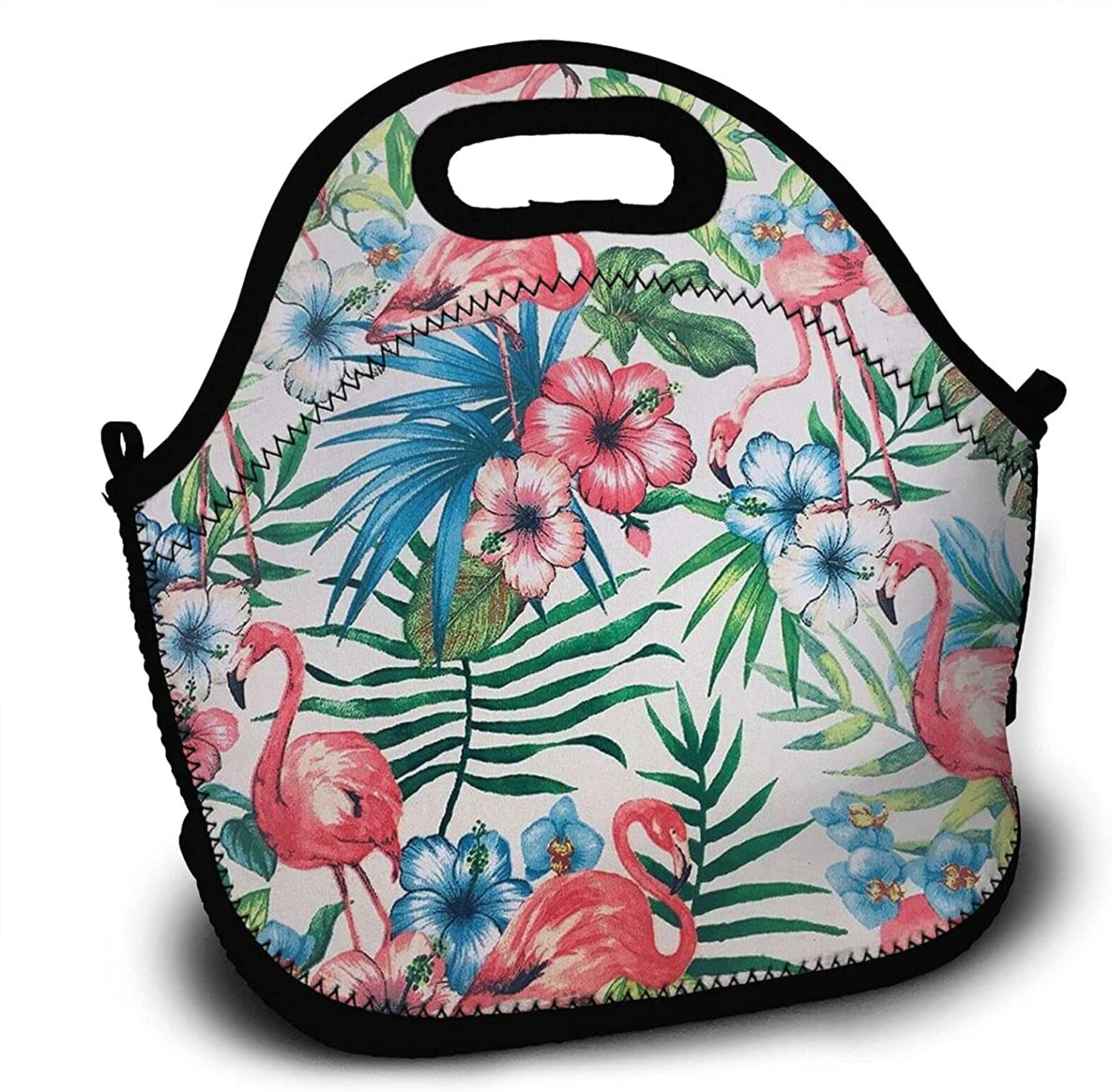 Flamingo Lunch Bags For Women Bag Men Challenge the lowest price of Japan ☆ Box Washable Over item handling Wit