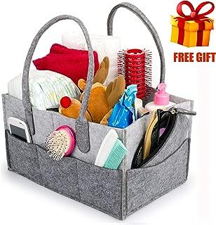 SofiaToys Baby Diaper Caddy Organizer Basket Girl Boy - Diaper Nursery Caddy Organizer Bag Storage - Best Baby Shower Basket Gift