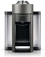 Nespresso Vertuo Evoluo Coffee and Espresso Machine by De'Longhi, Titan (Renewed)