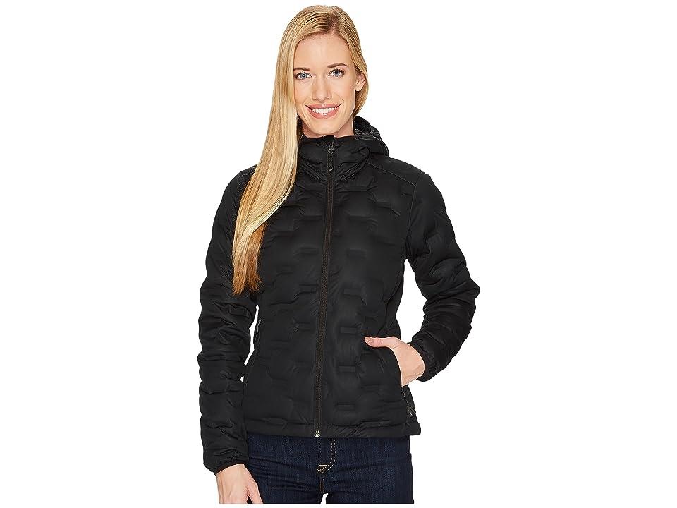 Mountain Hardwear StretchDown DS Hooded Jacket (Black) Women
