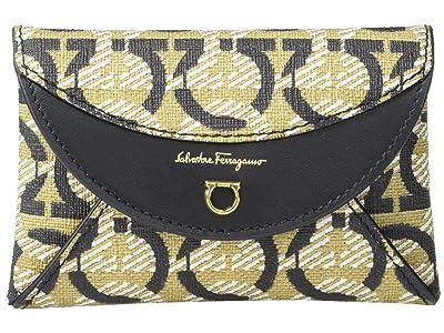 Salvatore Ferragamo Travel Card Case (Gancini Print) Handbags