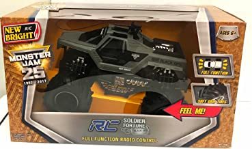 Monster Jam New Bright R/C Soldier Fortune Black Ops Full Function Radio Control