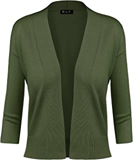 forest green shrug