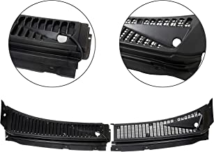 7BLACKSMITHS Windshield Wiper Cowl Vent Grille Cover Panels Kit for 1999-2007 Ford F250 F350 Excursion(Driver&Passenger Side) -Replace Part# 3C3Z-25022A68-AAA & 4C3Z-25022A69-AAA