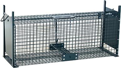 Moorland Piège de Capture - Cage - L - pour Petits Animaux : Lapins, Rats - 61x21x23cm Deux entrées + Poignée