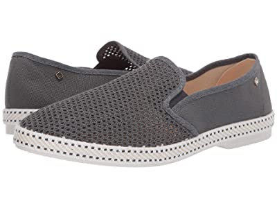 Rivieras Classic 20 Slip-On (Anthracite) Men