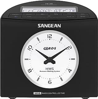 Sangean RCR-9 AM/FM-RDS Digital Tuning Atomic Clock Radio (Black)