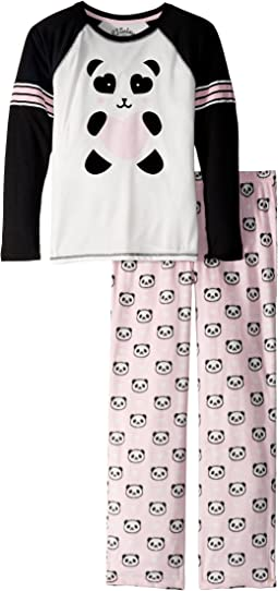 P.J. Salvage Kids - Panda Monium Pajama Set (Big Kids)