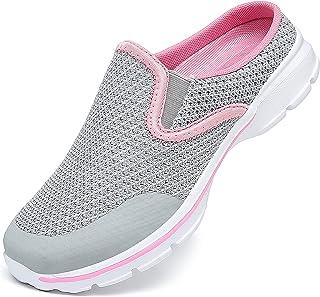 C CELANDA Womens Mens Garden Clogs Mules Slip on House Slippers Breathable Lightweight Mesh Shoes Non Slip Trainers Fashio...
