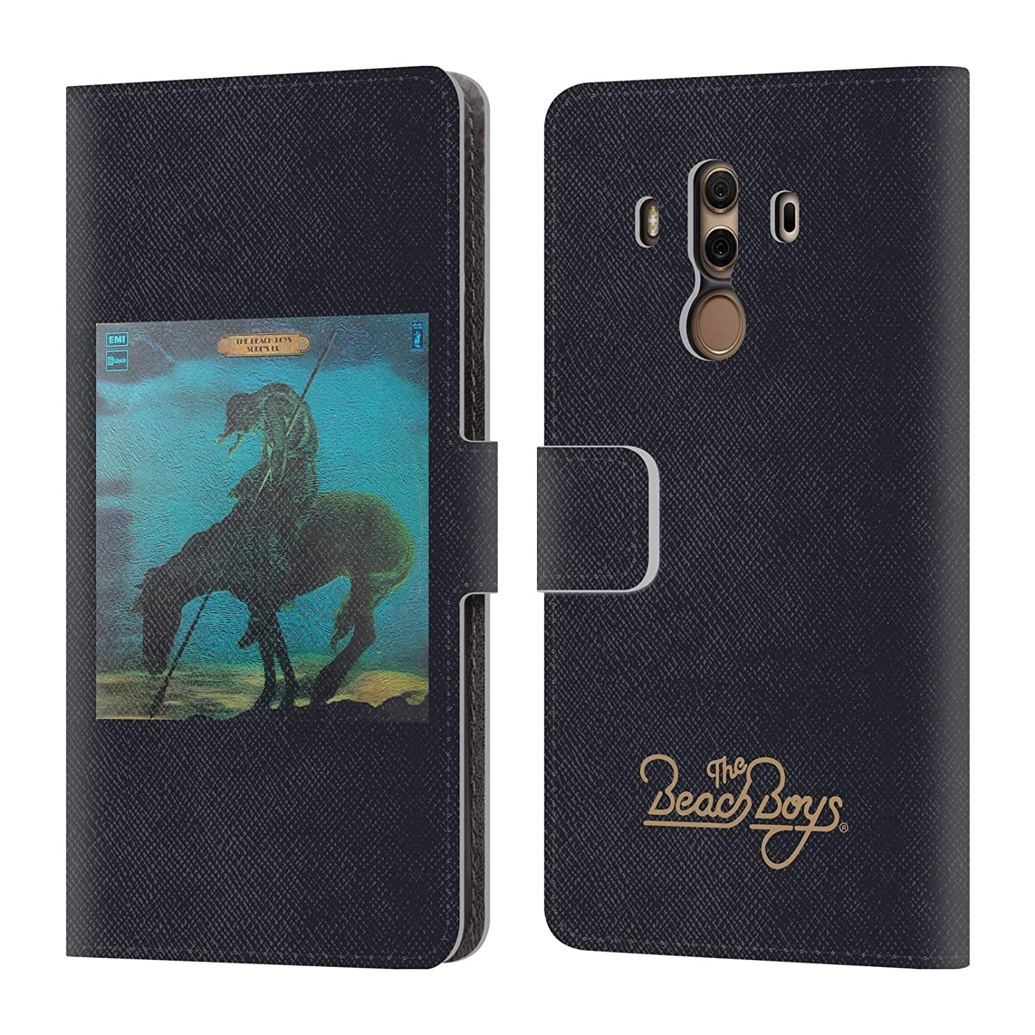 Official The Beach Boys Surfs Up Album Cover Art Leather Book Wallet Case Cover for Huawei Mate 10 Pro