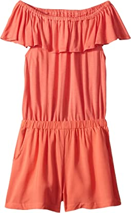 Open Back Romper (Big Kids)