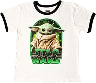 Star Wars The Mandalorian The Child Character Ringer - Camiseta para niños