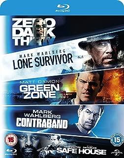 5 Movie Set Lone Survivor / Zero Dark Thirty / Safe House / Green Zone / Contraband