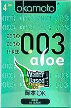 Okamoto 003 Aloe Pack Of 4S, 4 ct