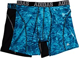 adidas - Sport Performance Climacool® Graphic 2-Pack Boxer Brief