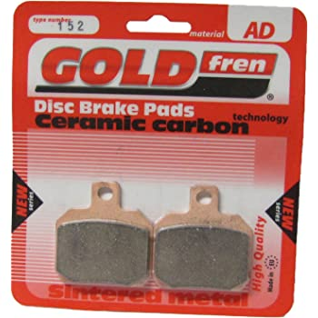 Triumph Tiger 800 Brake Disc Pads Rear R//H Goldfren 2010-2014