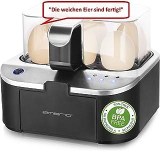 Emerio EB-123177.1 Cuiseur à œufs intelligent Noir