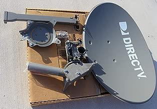 DIRECTV AU9-SL3-SWM Three LNB Ka/Ku Slim Line Dish Antenna SL-3 LNB Combo